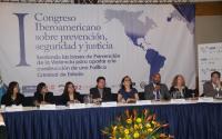 La Cooperación Internacional en la Promoción y Prevención de la Violencia y el Delito, la Seguridad y la Justicia